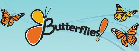 Butterflies! at Golf Mill Shopping Center