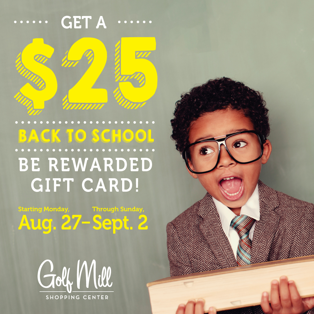 Be Rewarded Back to School Promotion