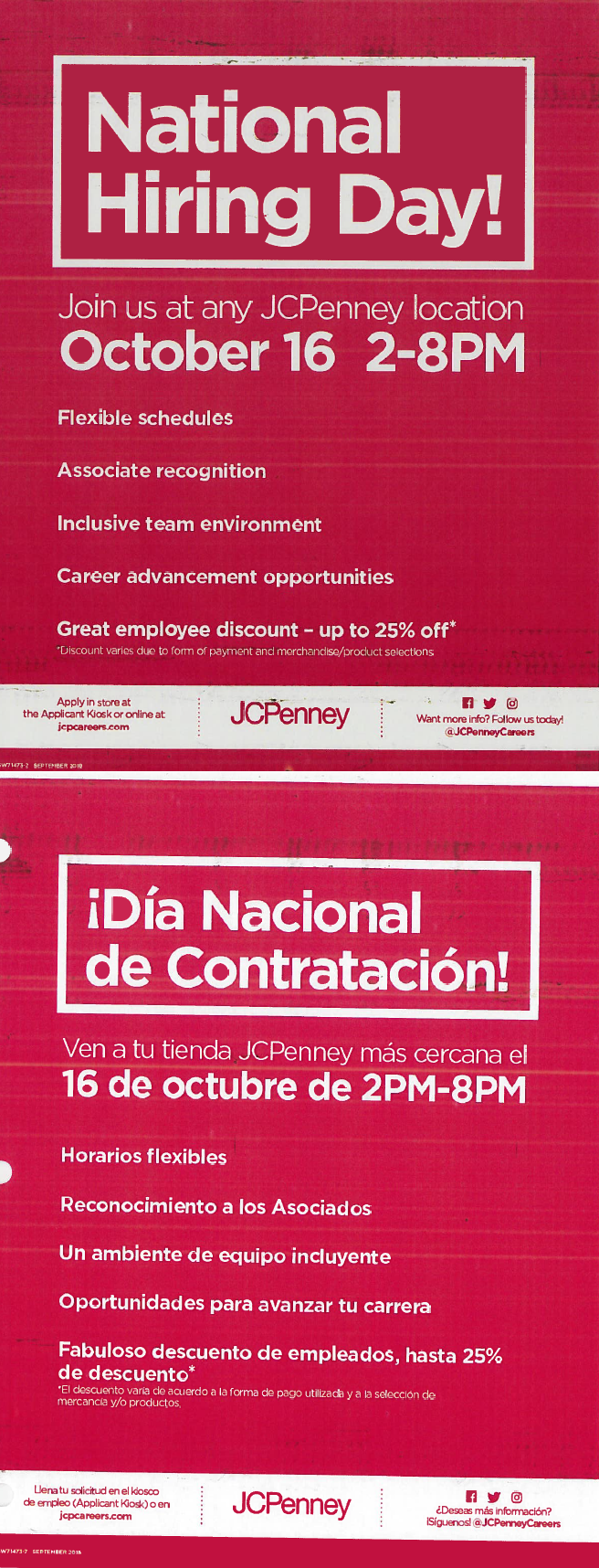 National Hiring Day at JCPenney