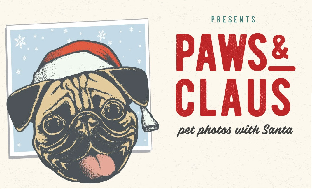 Paws & Claus sponsored by Chicago Pet Rescue