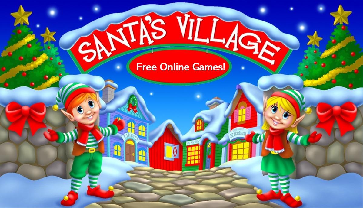 Visit Santa's Online Village!