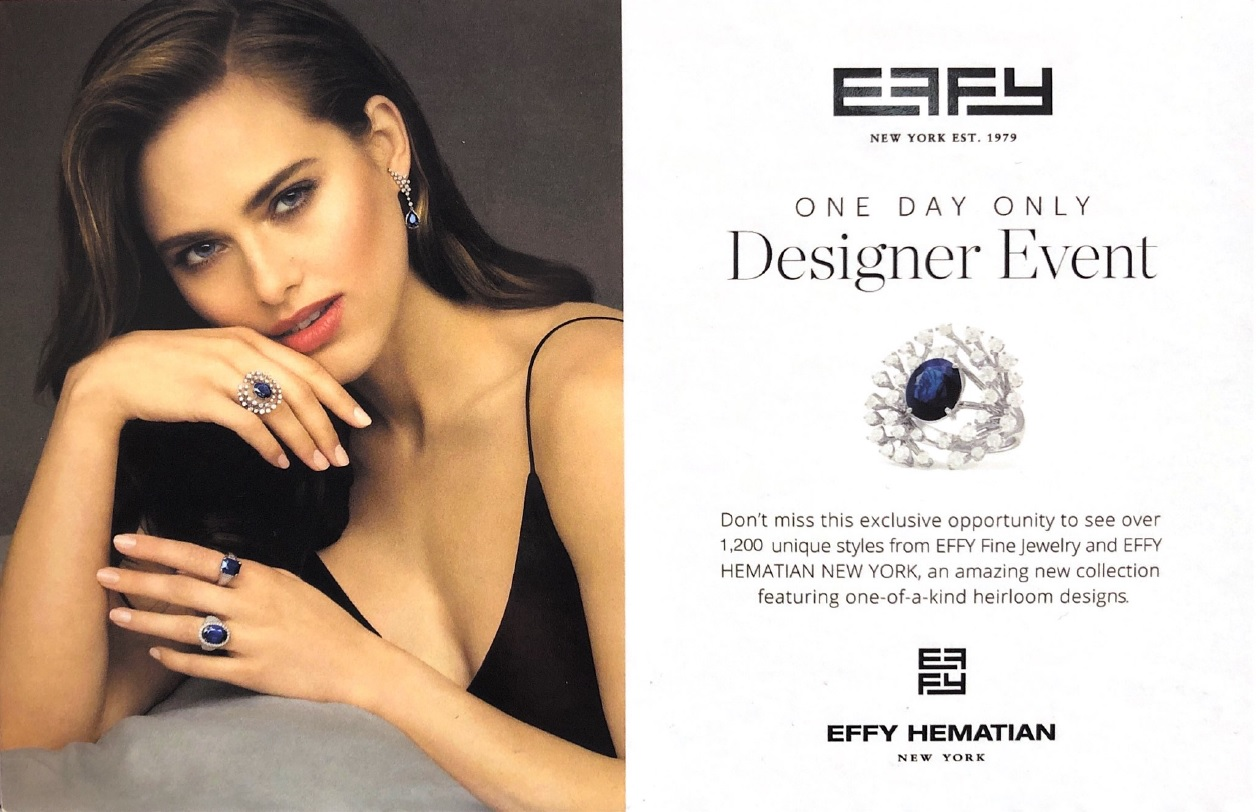 EFFY Designer Event- JC Penney