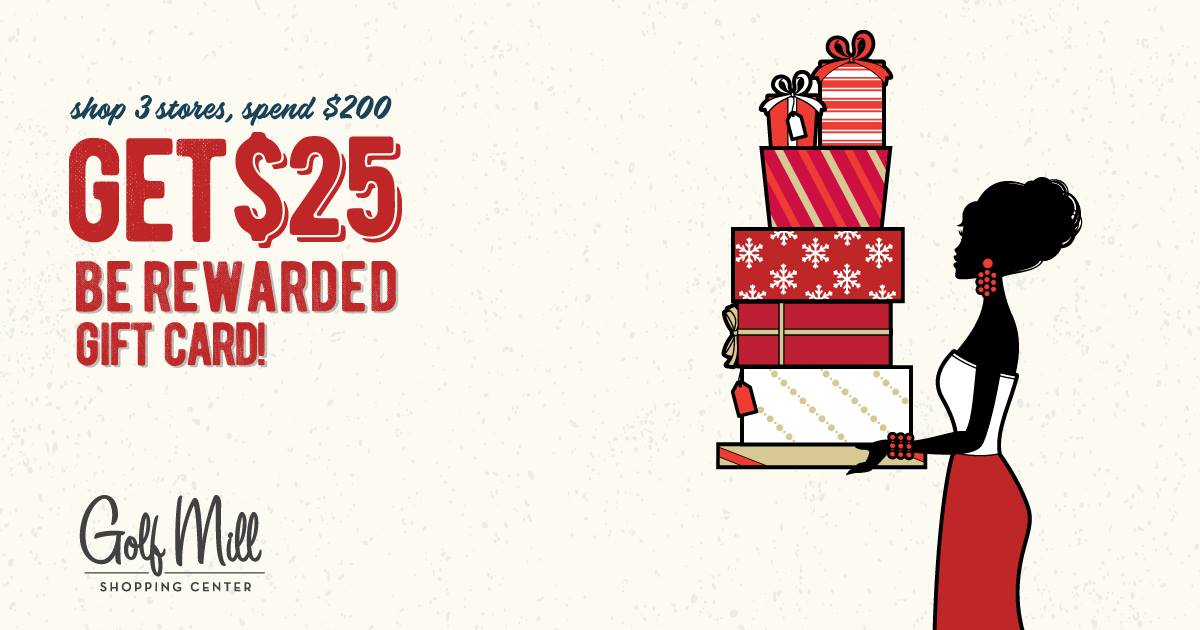Be Rewarded with a $25 Gift Card