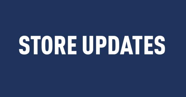 Store Updates