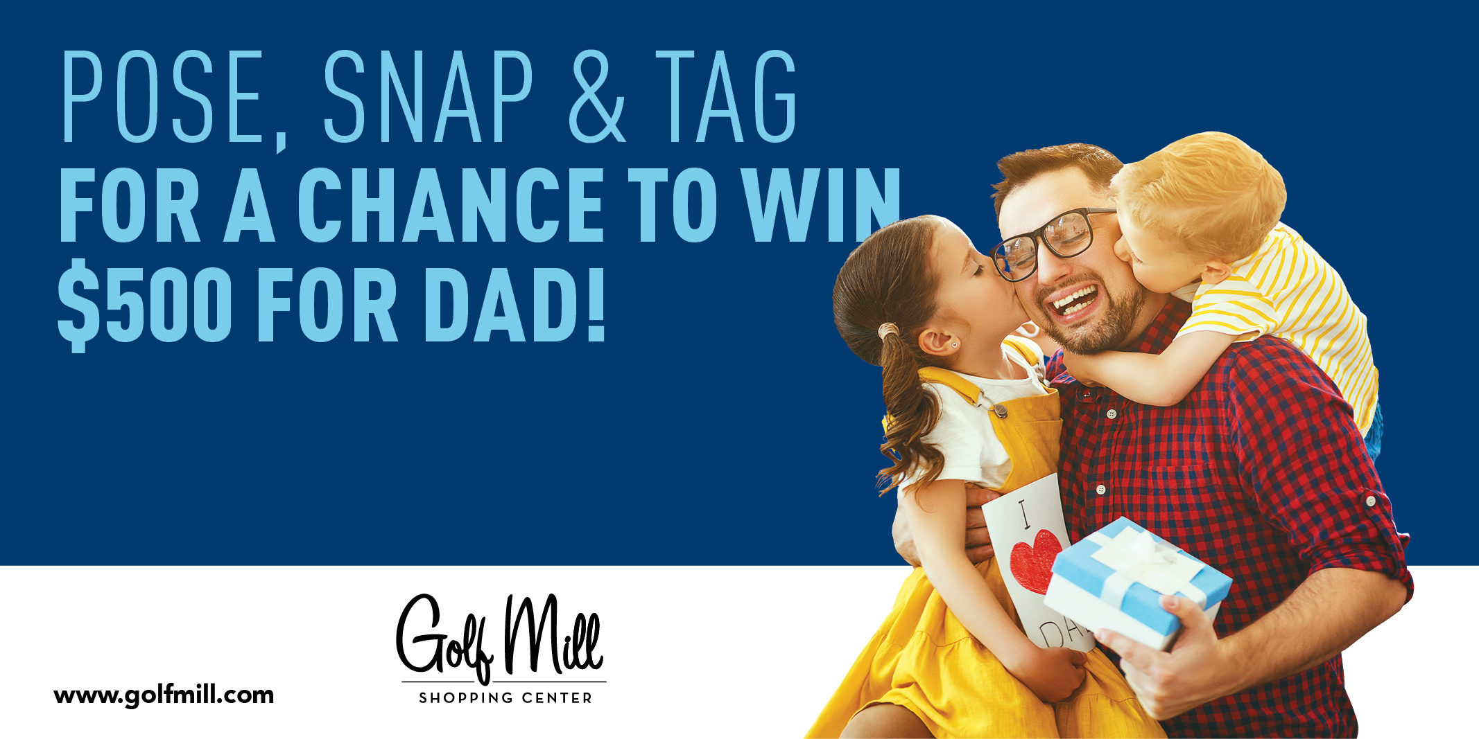 Father's Day #GolfMillFamily Giveaway