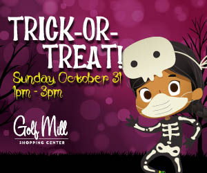 Trick or Treat at Golf Mill Shopping Center