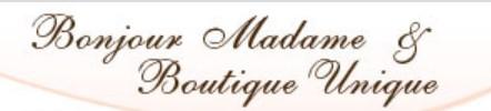 BonJour Madame, Boutique Unique, and The Golden Shoe